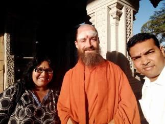 With Saravananatha Swami...