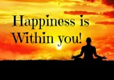 Image result for Happiness is within you
